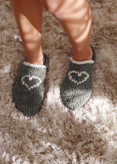 Free Knitting Pattern for Home Socks