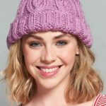 Free Knitting Pattern for an Chunky Cable Beanie
