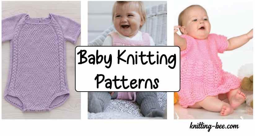 Free baby knitting patterns to download