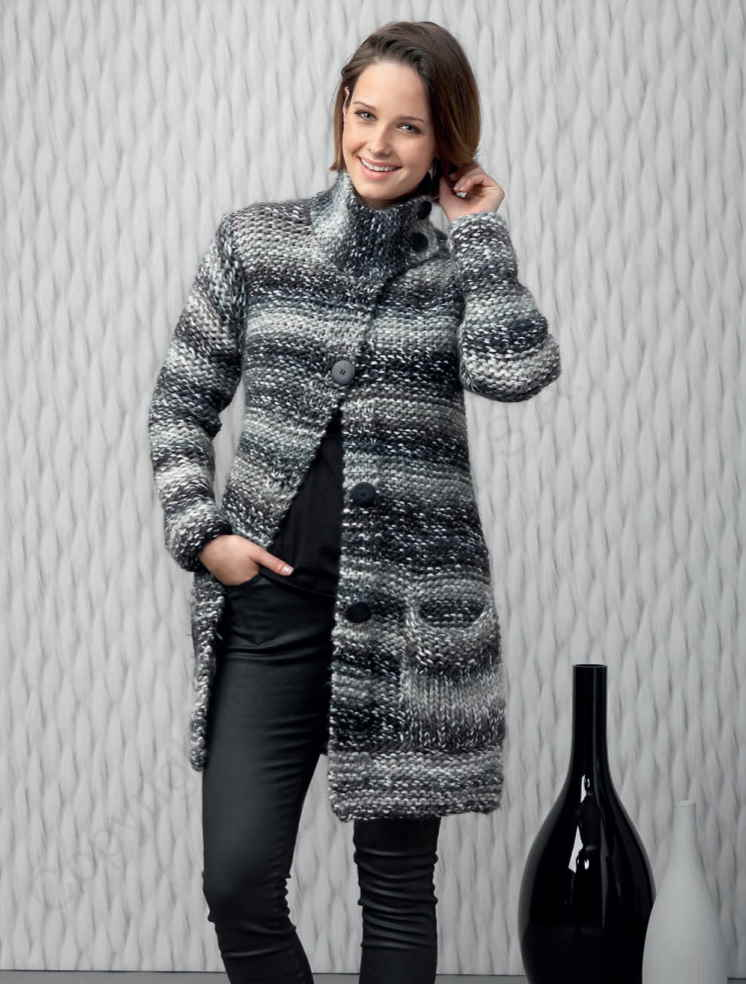 Ladies Chunky Cardigan Knitting Patterns Free Easy