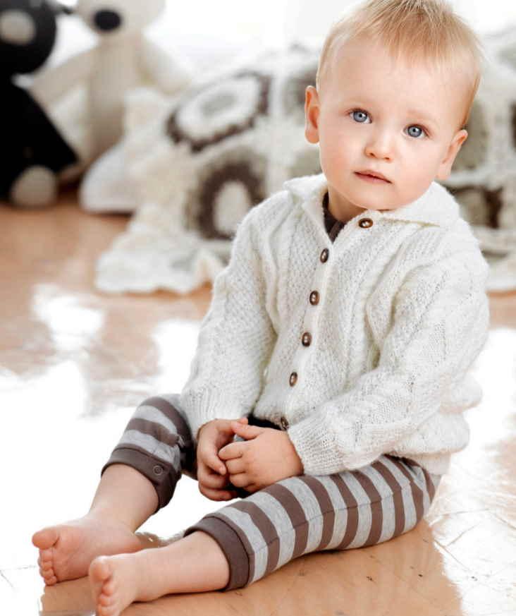 Free Knitting Patterns for Toddlers Australia 4 ply Aran Jacket