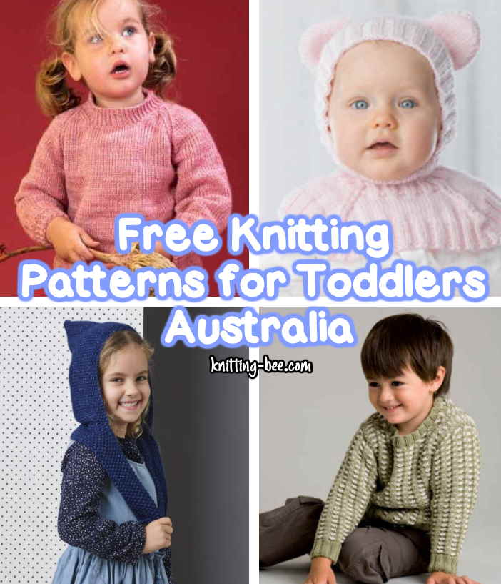 Free Knitting Patterns for Toddlers Australia