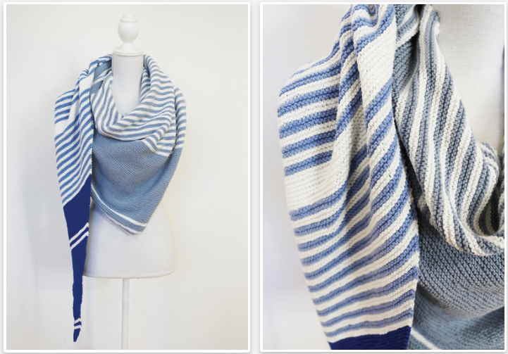Easy-shawl-knitting-pattern