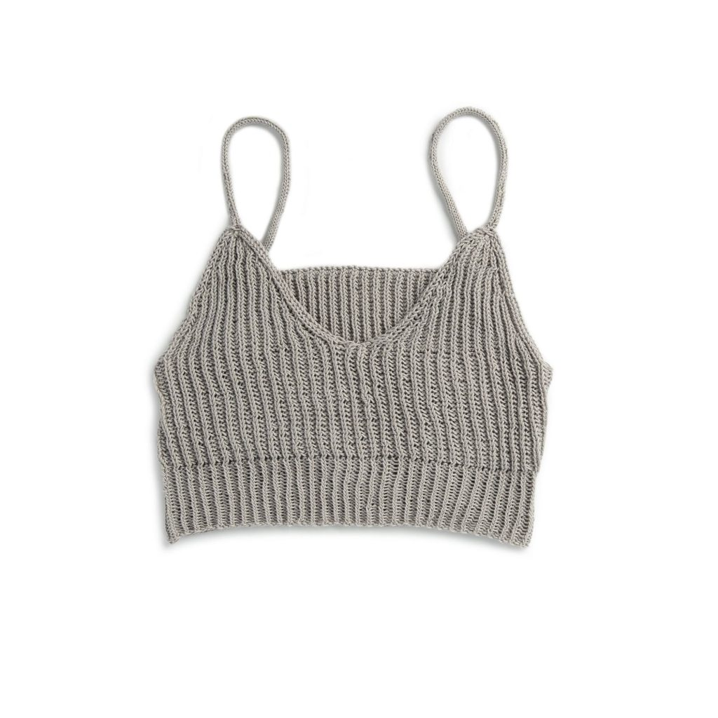 Free Knitting Pattern for a Summer Bralette from Patons