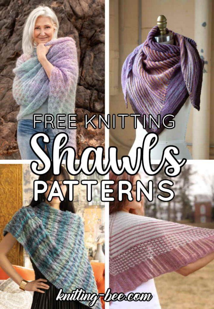 free shawl knitting patterns 2021