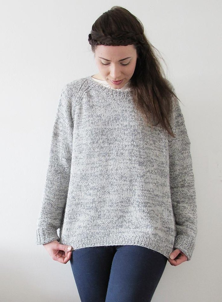 Free Knitting Patterns for Women's Jumpers easy