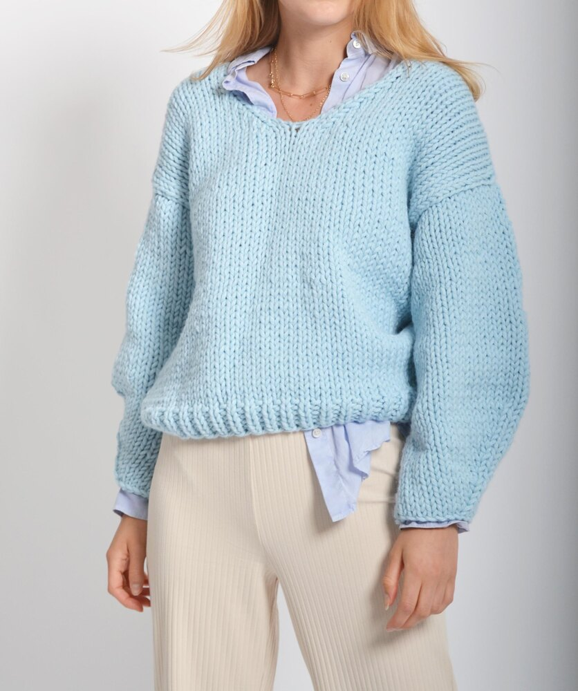 Free Knitting Patterns for Women's Jumpers