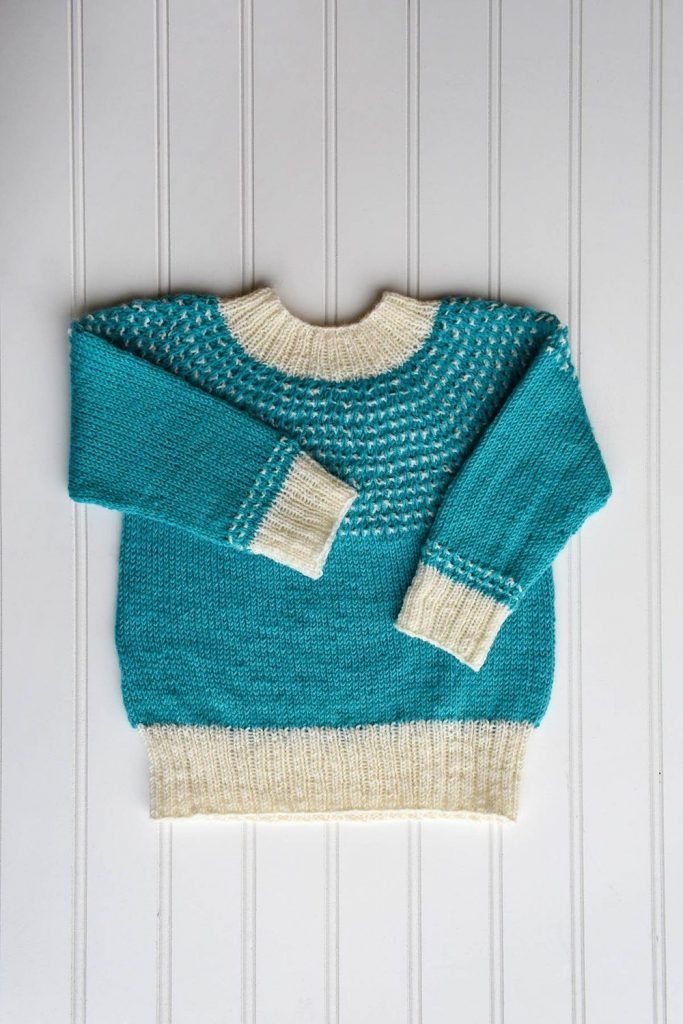 Free knit pattern for a toddler sweater 2021