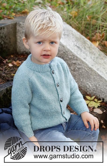 Free knitting pattern for a boys cardigan