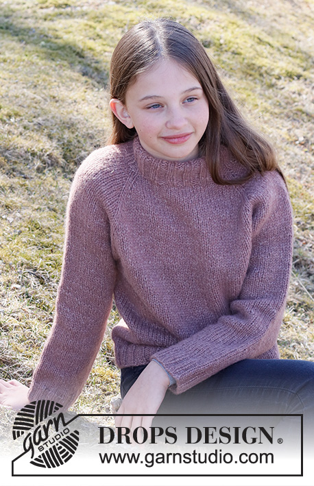 Free knitting pattern for a girls jumper 2021