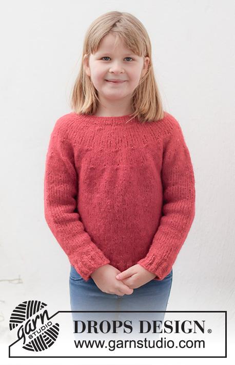 Girls sweater knitting pattern free
