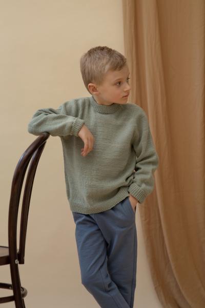 children's raglan sweater free knitting pattern