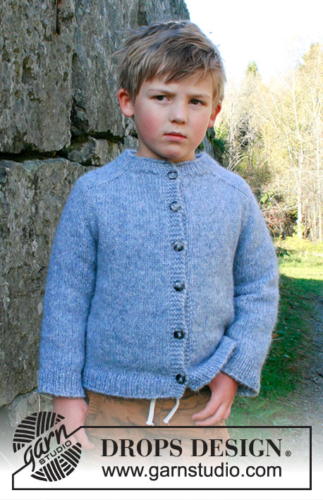 free knitting pattern for a childrens cardigan