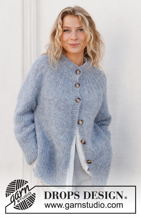 Free Knitting Patterns Ladies Cardigans Jackets alpaca mohair