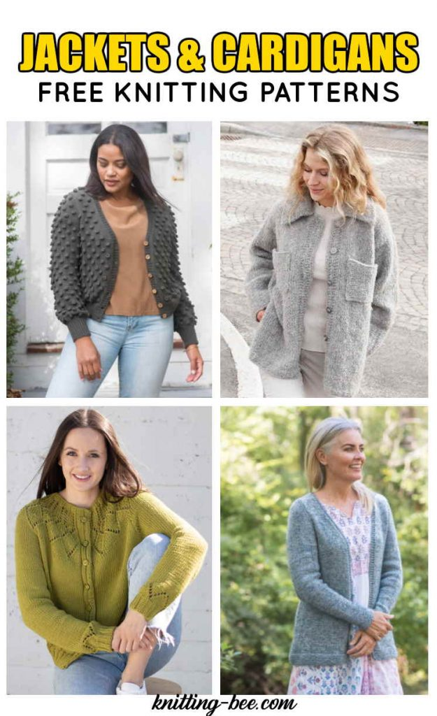 Free Knitting Patterns Ladies Cardigans Jackets for 2021