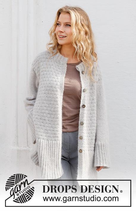 Free Knitting Patterns Ladies Long Cardigan