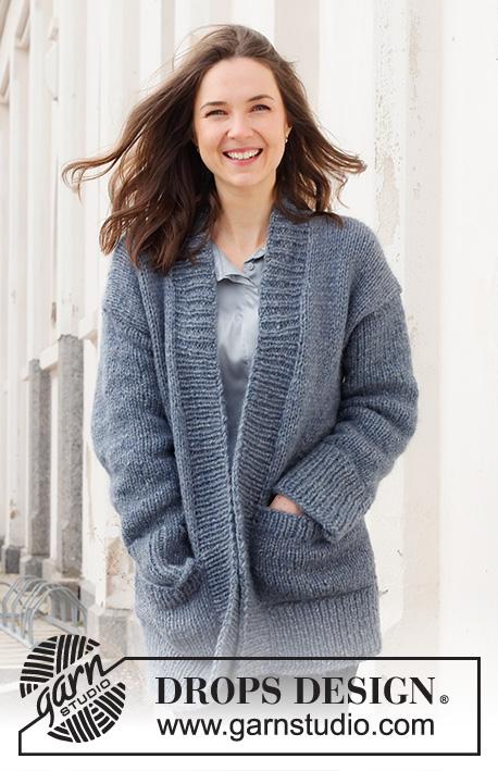 Free Knitting Patterns Ladies Long Jackets