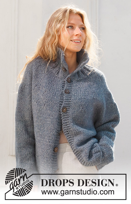 Free Knitting Patterns womens collar jacket