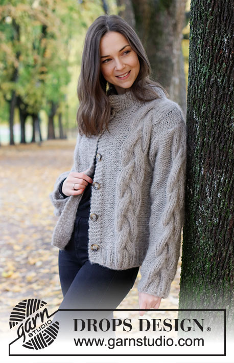 Free knit pattern for a womans cable jacket 2021